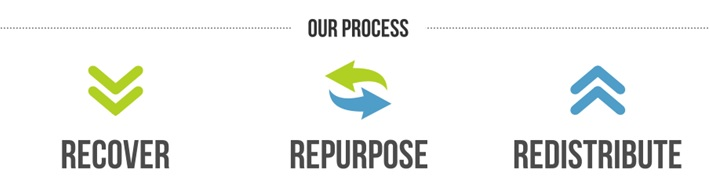Our process trifold web