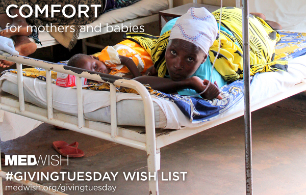 #GivingTuesday: Comfort for moms and babies